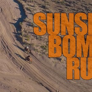 Staaker Drone and Dirtbikes: Sunset Bomb Run