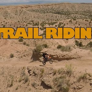 Staaker Drone and Dirt Bikes: Rio Puerco Trail Ride